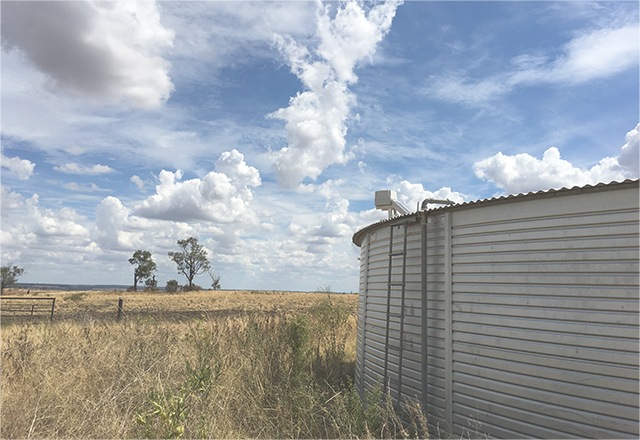 SA GRAZIER REDUCED WATER RUNS BY 90%