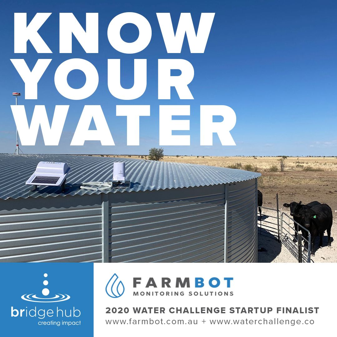 Farmbot Finalist of The Bridge Hub 2020 Water Challenge